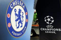 FC Dinamo vs FC Chelsea. U-19 UEFA Champions League Stock Photo