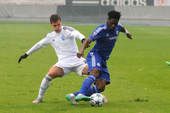 FC Dinamo vs FC Chelsea. U-19 UEFA Champions League Stock Photos
