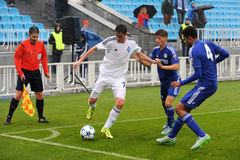 FC Dinamo vs FC Chelsea. U-19 UEFA Champions League Stock Images