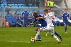FC Dinamo vs FC Chelsea. U-19 UEFA Champions League Royalty Free Stock Photos