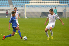 FC Dinamo vs FC Chelsea. U-19 UEFA Champions League Stock Photography