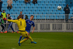 FC Dinamo vs FC Chelsea. U-19 UEFA Champions League. Stock Photos