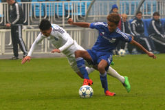 FC Dinamo vs FC Chelsea. U-19 UEFA Champions League. Stock Photography