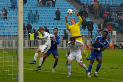 FC Dinamo vs FC Chelsea. U-19 UEFA Champions League. Stock Photo