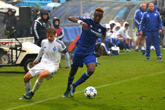 FC Dinamo vs FC Chelsea. U-19 UEFA Champions League. Royalty Free Stock Image
