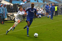 FC Dinamo vs FC Chelsea. U-19 UEFA Champions League. Royalty Free Stock Photography