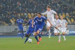 FC Dinamo vs FC Chelsea. Royalty Free Stock Image