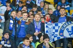 FC Dinamo vs FC Chelsea UEFA Champions' liga Zdjęcia Royalty Free