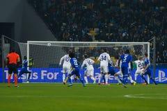FC Dinamo vs FC Chelsea. UEFA Champions' League Stock Photography