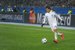 FC Dinamo vs FC Chelsea. UEFA Champions' League Royalty Free Stock Photos