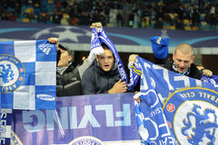 FC Dinamo vs FC Chelsea. UEFA Champions' League Royalty Free Stock Image