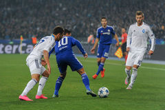 FC Dinamo vs FC Chelsea. UEFA Champions' League Stock Photo