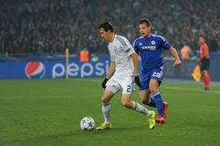 FC Dinamo vs FC Chelsea. UEFA Champions' League Stock Photos