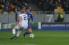 FC Dinamo vs FC Chelsea. UEFA Champions' League Stock Photography