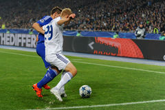 FC Dinamo vs FC Chelsea. UEFA Champions' League Stock Images