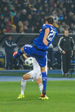FC Dinamo vs FC Chelsea. UEFA Champions' League Royalty Free Stock Photo