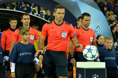 FC Dinamo vs FC Chelsea. UEFA Champions' League. Stock Photos