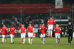 FC Dinamo Bucharest FC Brasov Lizenzfreie Stockfotografie