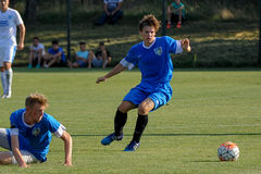 FC Dnipro contre FC Nikopol photo stock