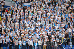 FC Dnipro fans Royalty Free Stock Photography