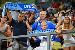 FC Dnipro fans Stock Image