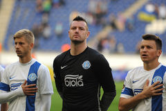 FC Dnipro football players Royalty Free Stock Photography
