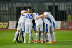 FC Dnipro football team Stock Images