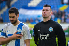 FC Dnipro players Stock Image