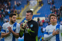FC Dnipro players Stock Photo