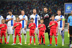 FC Dnipro players Stock Images