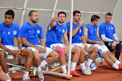 FC Dnipro players Royalty Free Stock Photos
