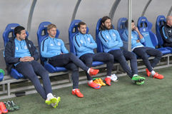 FC Dnipro substitute players Stock Photography