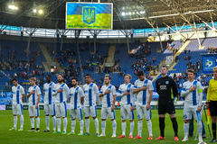 FC Dnipro team Royalty Free Stock Photography