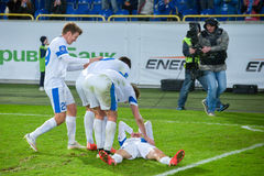 FC Dnipro team Royalty Free Stock Image