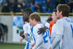 FC Dnipro team Royalty Free Stock Photos