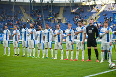 FC Dnipro team Stock Photography