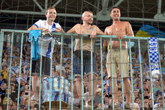 FC Dnipro ultras Stock Image
