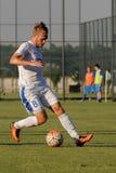 FC Dnipro versus FC Nikopol Royalty-vrije Stock Afbeeldingen