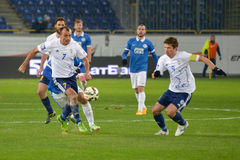 FC Dnipro vs  FC Hoverla. Ukrainian Premier League Royalty Free Stock Image