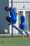 FC Dnipro vs FC Nikopol Fotografia Stock