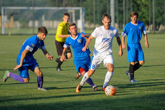 FC Dnipro vs FC Nikopol. Test match at training camp FC Dnipro. Dnipro City Ukraine, 07 July 2016 Stock Photography