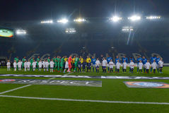 FC Dnipro vs FC Saint-Etienne. UEFA Europa League Royalty Free Stock Image