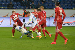 FC Dnipro vs FC Volyn Ukrainian championship Stock Photo