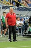FC Dnipro vs FC Volyn. Ukrainian League Stock Photography