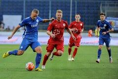 FC Dnipro vs FC Volyn. Ukrainian League Stock Images