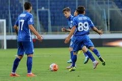 FC Dnipro vs FC Volyn. Ukrainian League Stock Photos