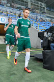 FC Dnipro vs FC Vorskla. Ukrainian championship Stock Photo