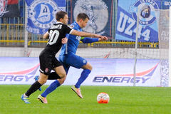 FC Dnipro vs FC Zorya. Ukraine Cup. Semifinal Stock Photo