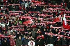 FC Dinamo Bucharest FC Brasov Stockbild