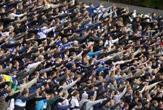 FC Dynamo Kiev team supporters Stock Photo
